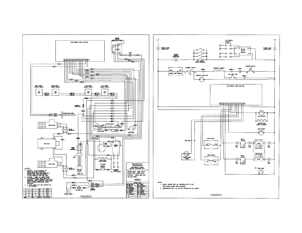 medium resolution of frigidaire plgf389acb wiring schematic diagram