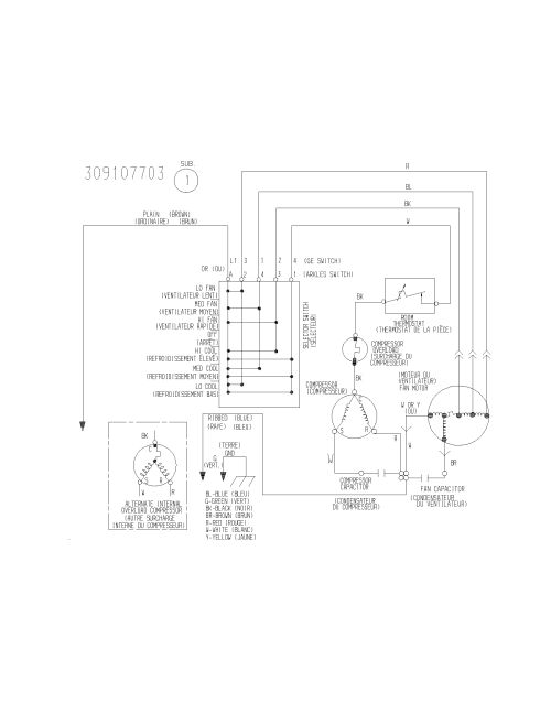 small resolution of white westinghouse wac083k7a5 wiring diagram diagram