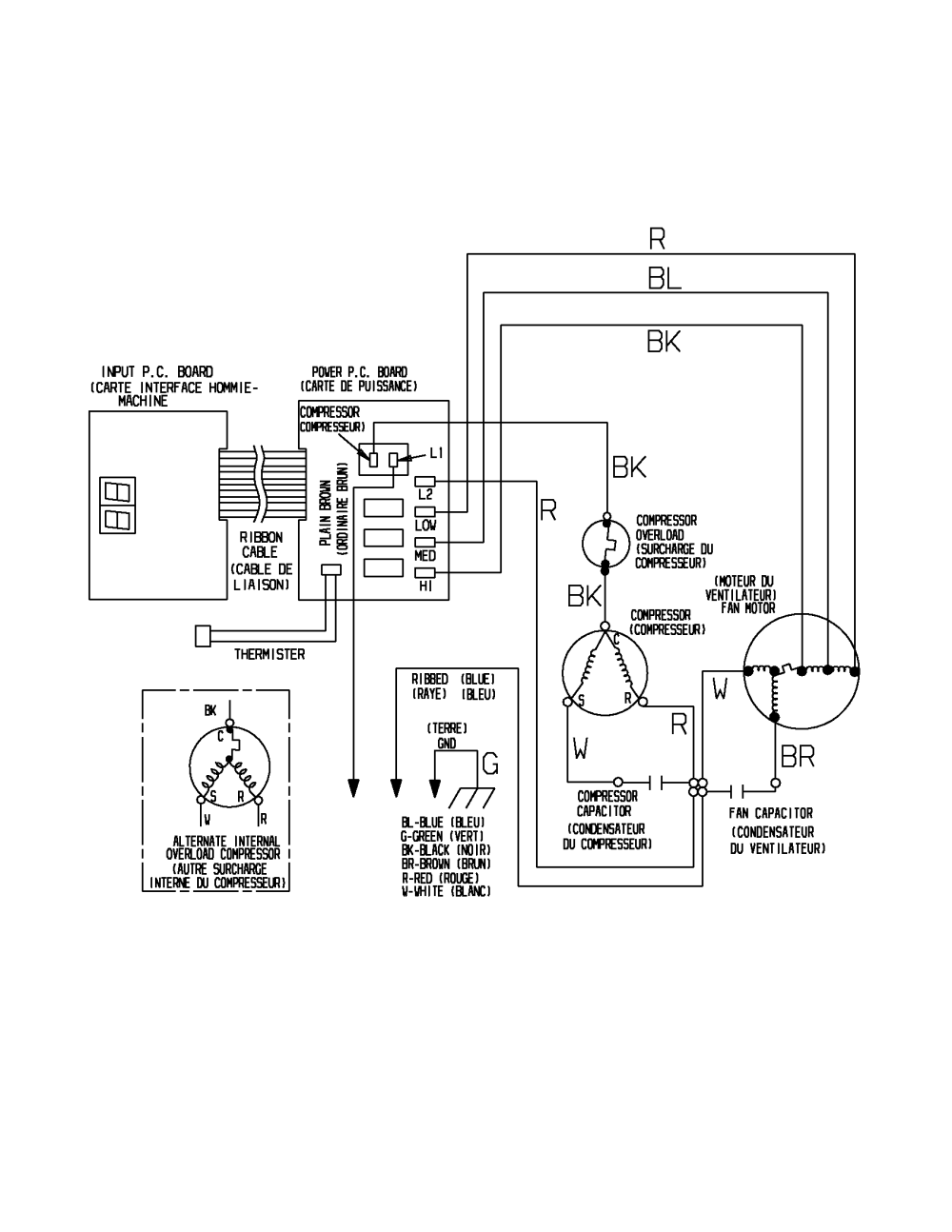 medium resolution of compressor motor con 2 circuit plug cap cr compressor relay