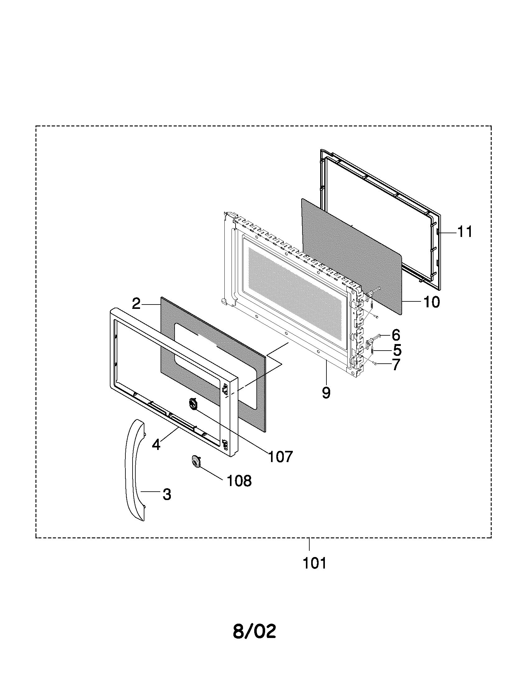 Frigidaire Parts Microwave