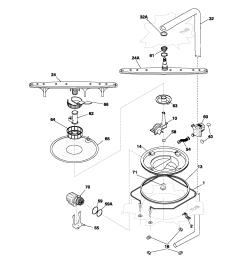 frigidaire model pldb998cc0 dishwasher genuine parts rh searspartsdirect com electrolux dishwasher parts layout electrolux dishwasher problems [ 1700 x 2200 Pixel ]