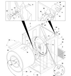 looking for frigidaire model gler341as2 dryer repair replacement frigidaire dryer schematic diagram [ 1700 x 2200 Pixel ]