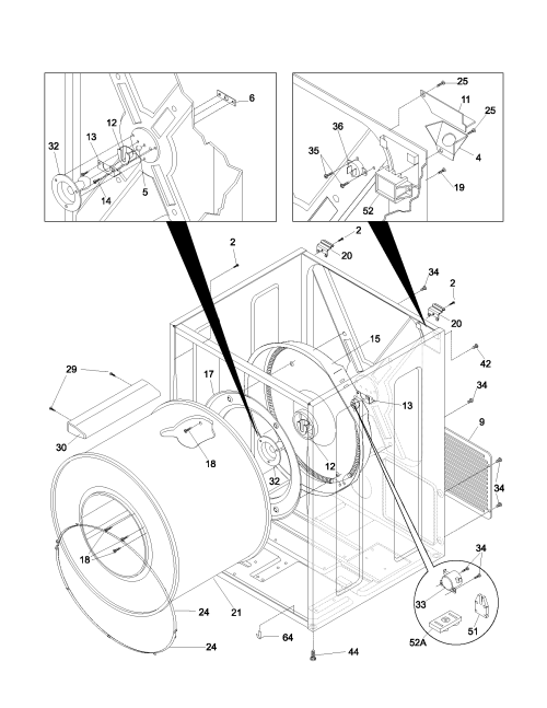 small resolution of looking for frigidaire model gler341as2 dryer repair replacement frigidaire dryer schematic diagram