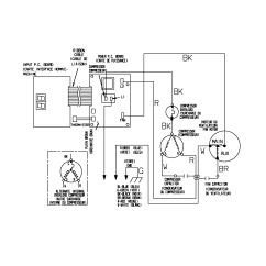 Wiring Diagram For Ac Unit Capacitor 92 Jeep Wrangler Fuse Box Residential Air Conditioner Ge Window Schematic All Dataamerican Standard Compressor Best Library