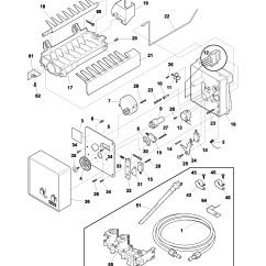Frigidaire Gallery Refrigerator Parts Diagram 2004 Dodge Ram Trailer Plug Wiring Ice Maker Schematic Get Free Image About