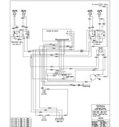 kelvinator electric range backguard parts kelvinator wall oven wiring diagram [ 1700 x 2200 Pixel ]