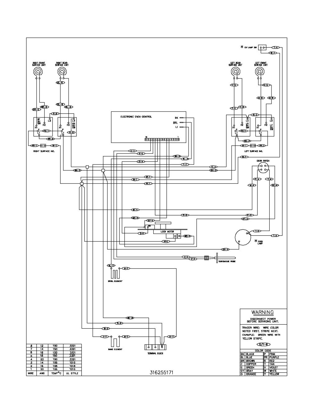 medium resolution of kelvinator electric range backguard parts kelvinator wall oven wiring diagram