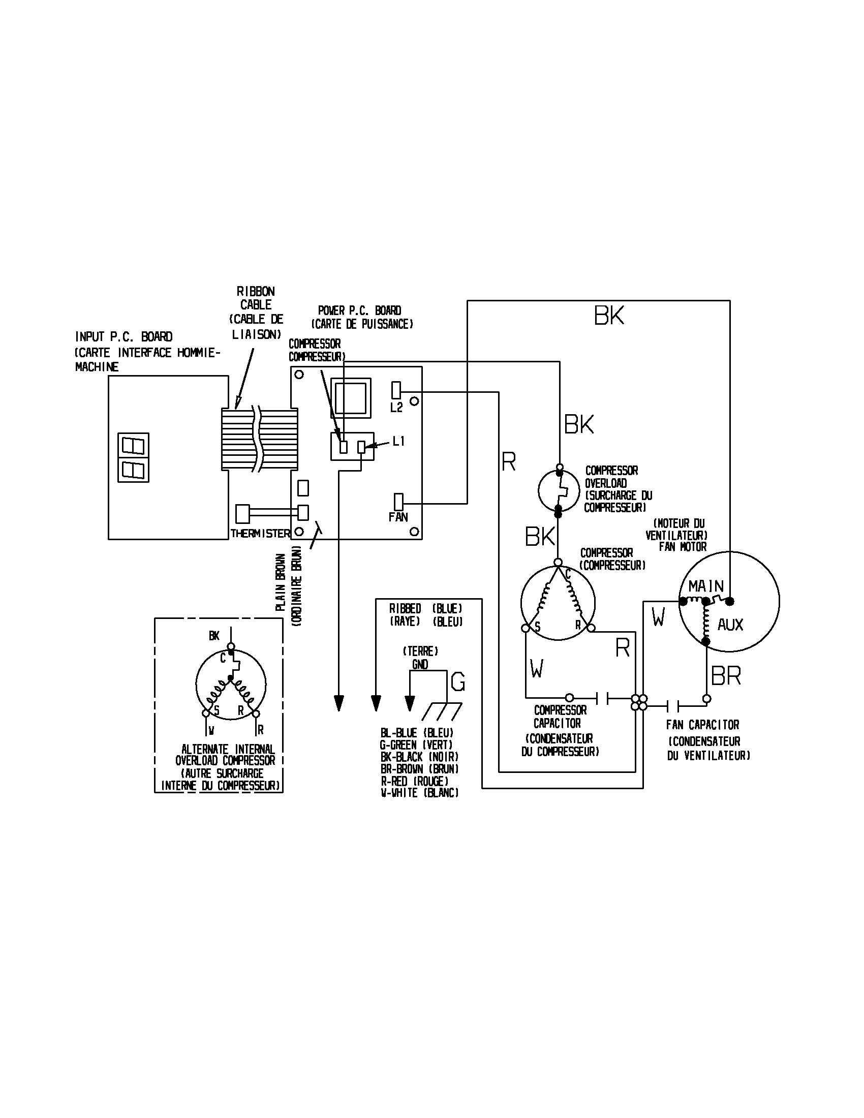 hight resolution of  r0306511 00006 kenmore room a c parts model 25373055301 sears partsdirect wiring harness diagram at cita proform