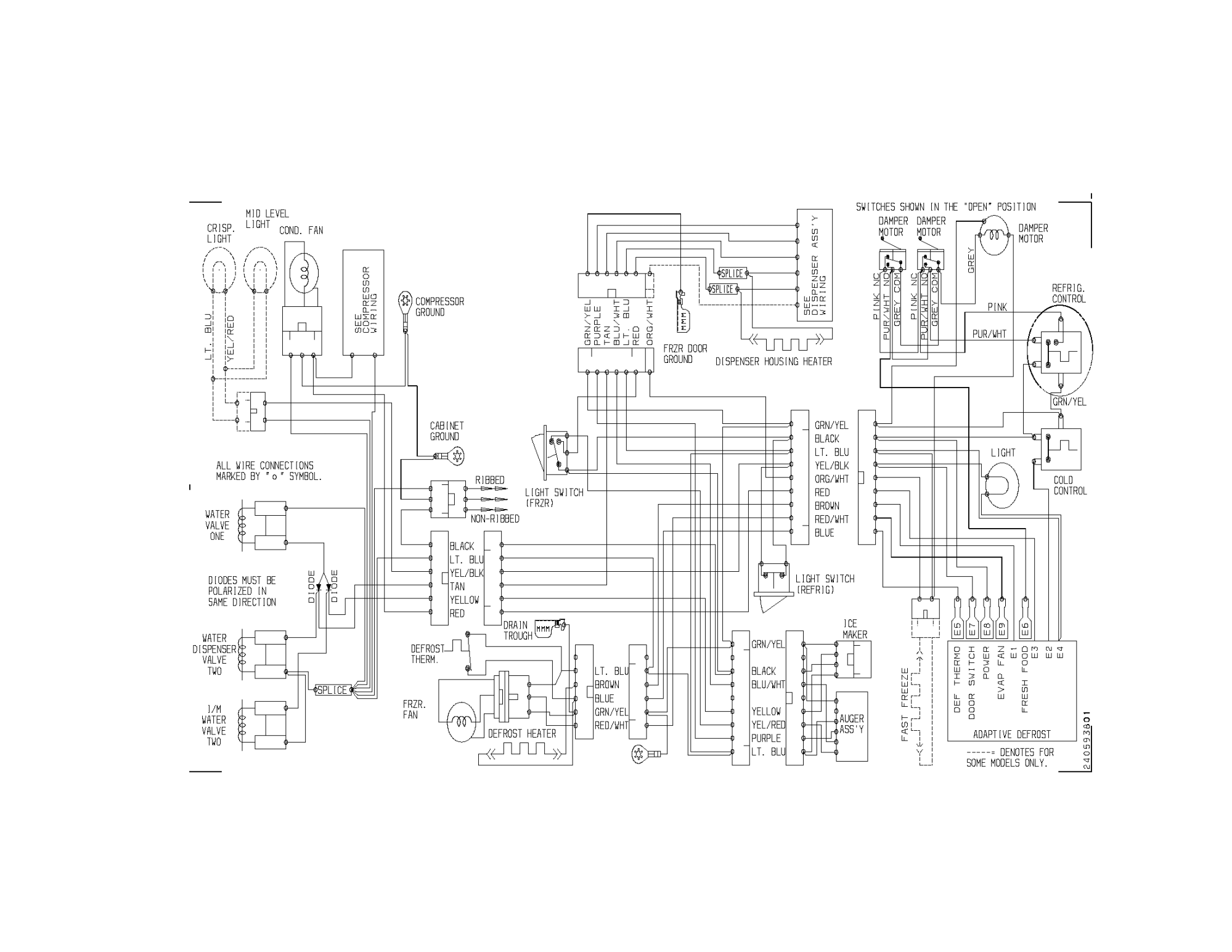 hight resolution of walking freezer wire diagram
