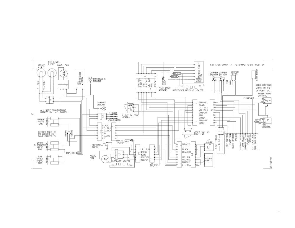 medium resolution of frigidaire frs23h5asb8 wiring diagram diagram