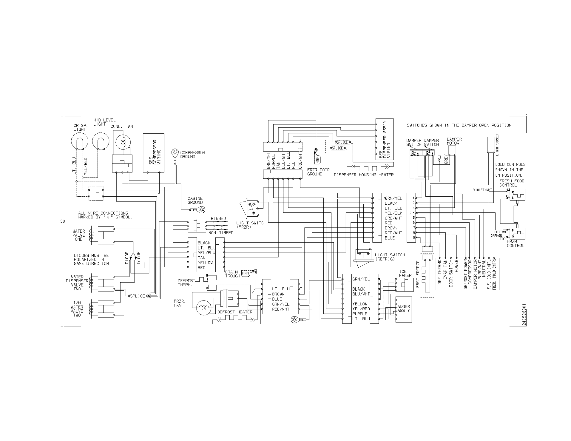 hight resolution of frigidaire frs23h5asb8 wiring diagram diagram