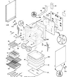 frigidaire fef366ccb body diagram [ 1700 x 2200 Pixel ]