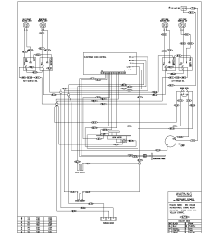 kelvinator model kef355asg free standing electric genuine parts general electric refrigerator wiring diagrams kelvinator refrigerator wiring diagram [ 1700 x 2200 Pixel ]