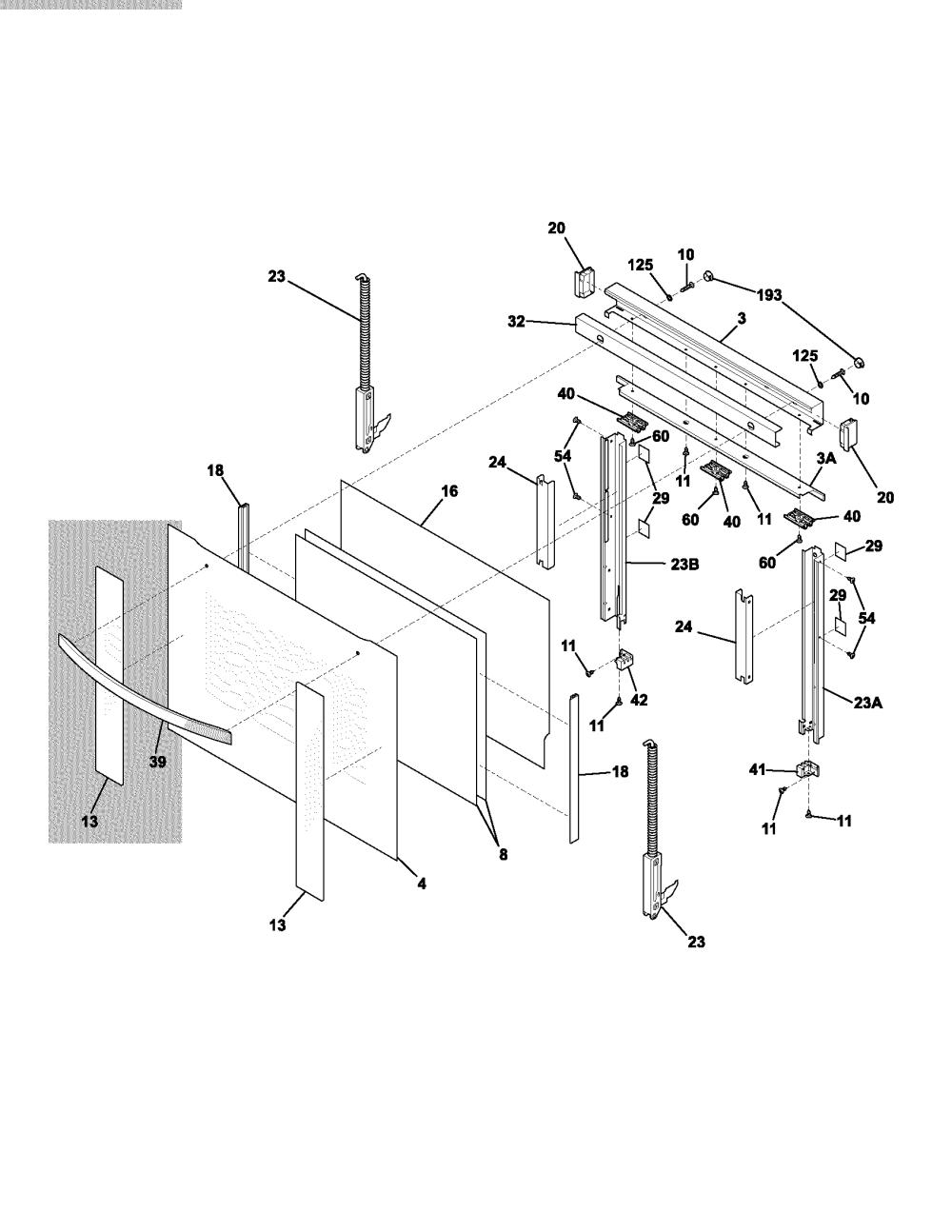 medium resolution of electrolux e30ew75dss1 door diagram