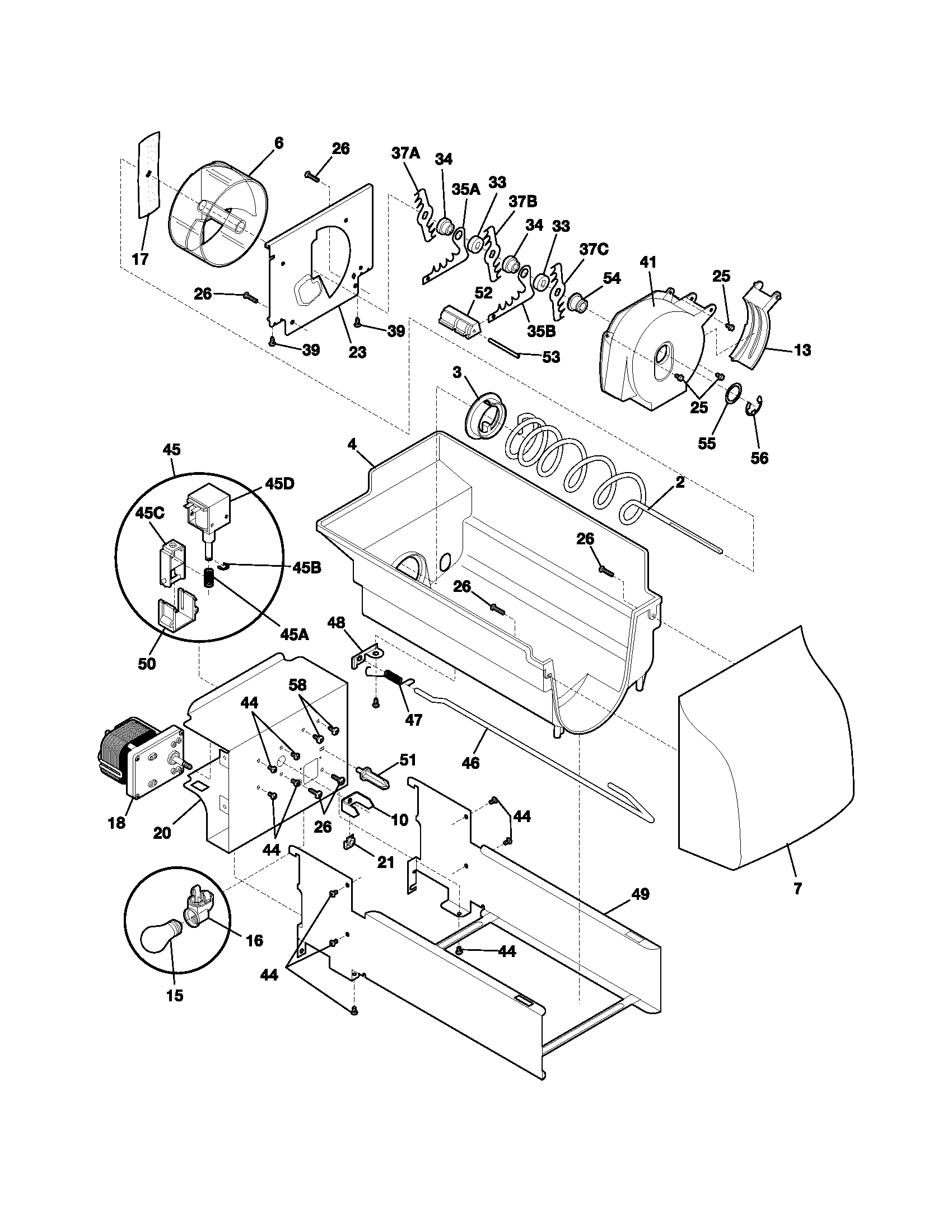 ice maker diagram 1995 ford f150 starter solenoid wiring module free engine image for user