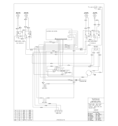 Oven Switch Wiring Diagram - on