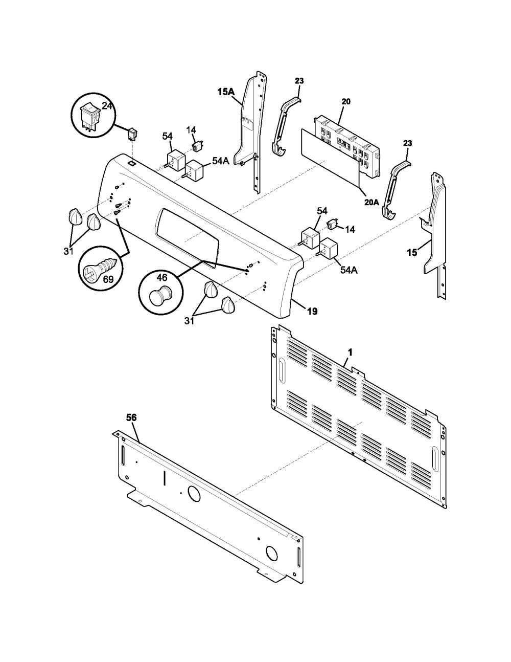 medium resolution of kelvinator kef355asj backguard diagram