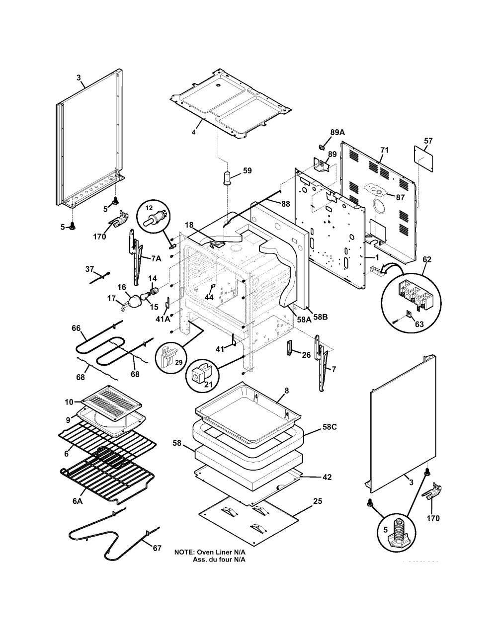 medium resolution of kelvinator kef355asj body diagram