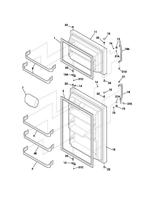 small resolution of photos of kenmore refrigerator parts diagram