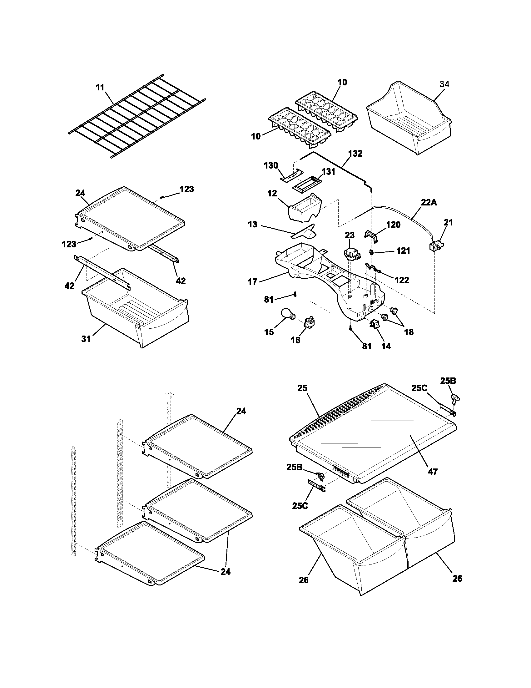 Ice Cube Tray Diagram, Ice, Free Engine Image For User