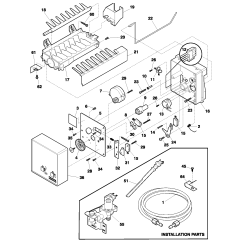 Maytag Refrigerator Thermostat Schematic Diagram Digital Energy Meter Wiring Kenmore Defrost Timer Location Get Free