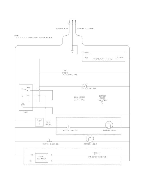 small resolution of frigidaire frt18b4awa wiring schematic diagram