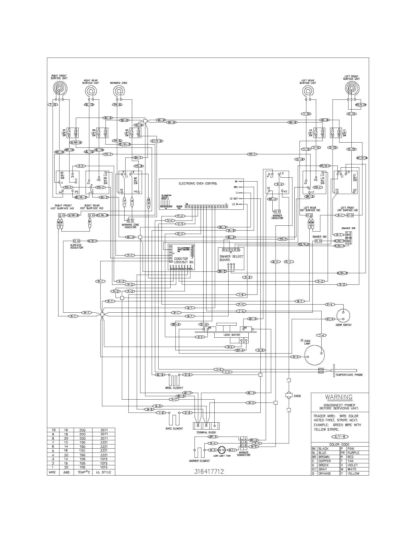 hight resolution of kenmore model 79096419401 free standing electric genuine parts rh searspartsdirect com sears tractor wiring diagram teisco
