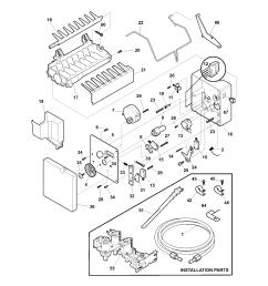 kenmore 25354669403 ice maker diagram [ 1700 x 2200 Pixel ]