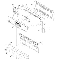 Kenmore Elite Parts Diagram Trailer Electrical Plug Wiring Gas Range Model 79079363402 Sears