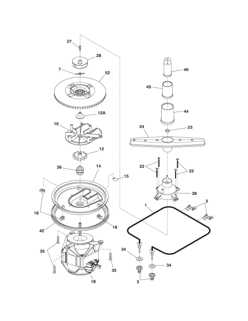 small resolution of frigidaire dishwasher schematic diagram