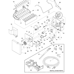 Electrolux Parts Diagram Lucas Wiper Motor Wiring Ice Maker And List For Model E23cs75dss7