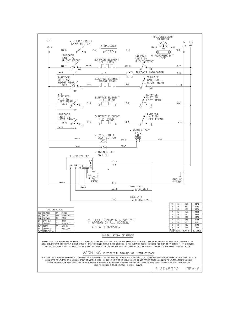 medium resolution of frigidaire fef402bwd wiring diagram diagram