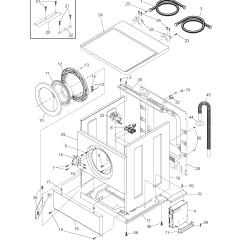 Frigidaire Dryer Diagram Ford Falcon El Radio Wiring For Affinity Refrigerator