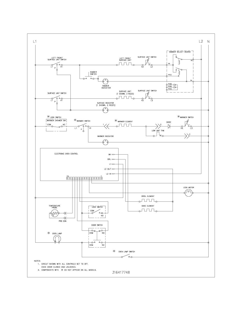 medium resolution of kenmore 79094222409 wiring schematic diagram