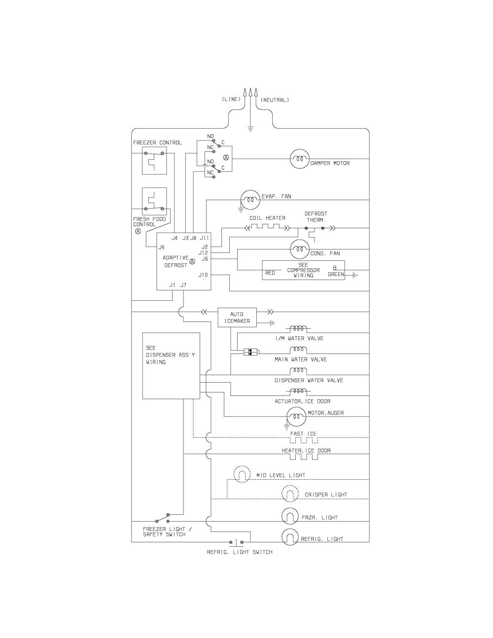 medium resolution of singer refrigerator wiring diagram detailed wiring diagramssinger refrigerator wiring diagram electrical wiring diagrams refrigerator wiring schematic