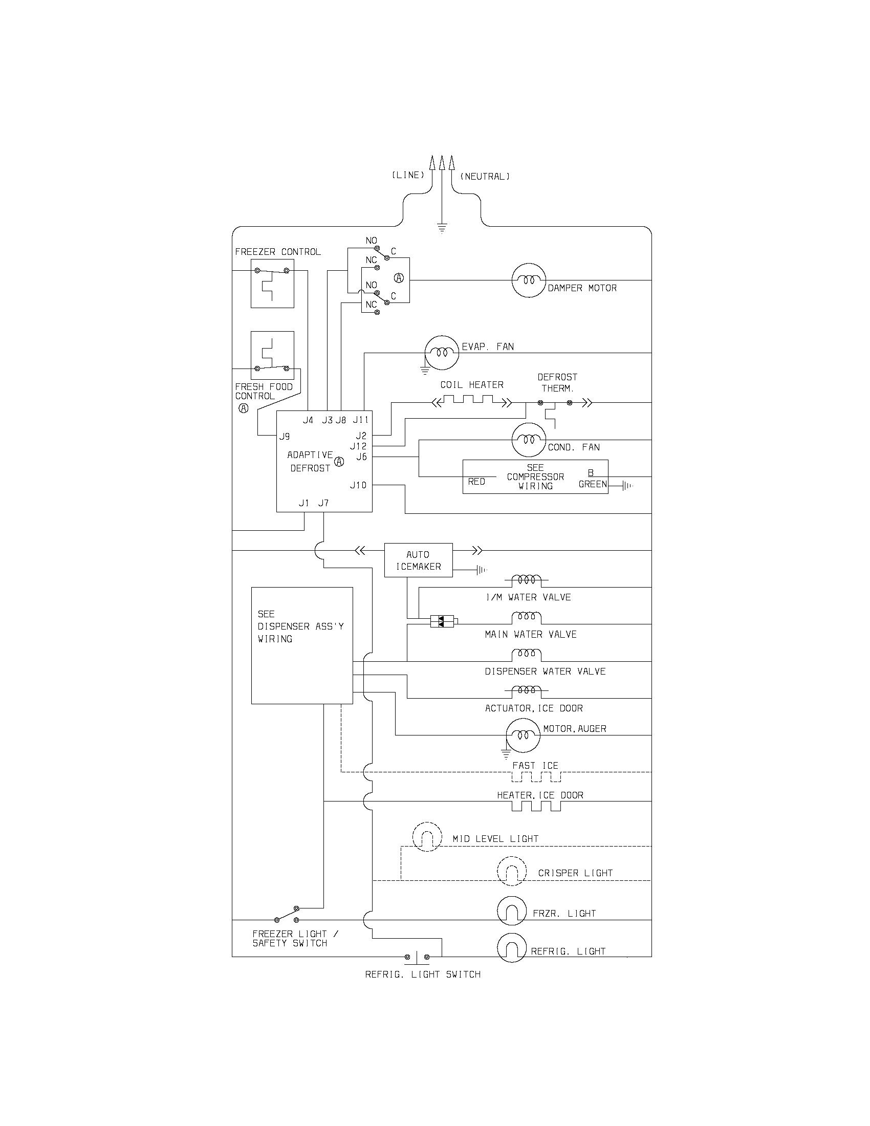 hight resolution of singer refrigerator wiring diagram detailed wiring diagramssinger refrigerator wiring diagram electrical wiring diagrams refrigerator wiring schematic