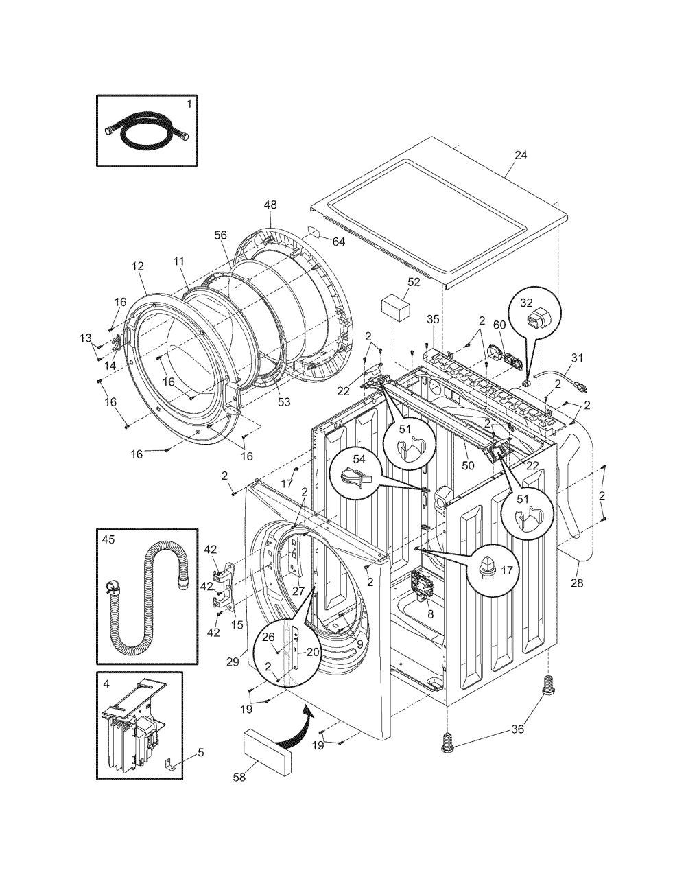 medium resolution of r0602146 00002 frigidaire washer parts model ltf6000es0 sears partsdirect at cita asia