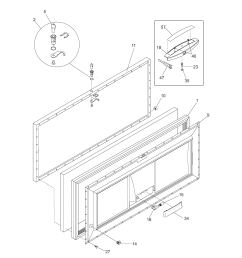 kenmore model 25316562100 chest freezer genuine parts kenmore gas range wiring diagram kenmore chest freezer wiring diagram [ 1700 x 2200 Pixel ]
