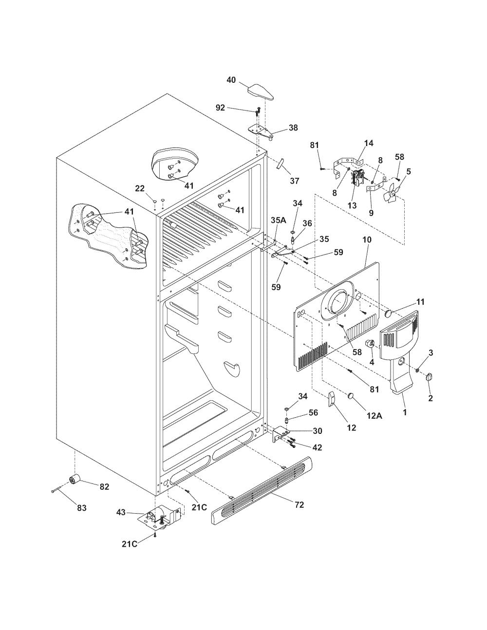 medium resolution of kenmore refrigerator relay wiring diagram wiring library kenmore heating element wiring diagram kenmore model 25365812508 top
