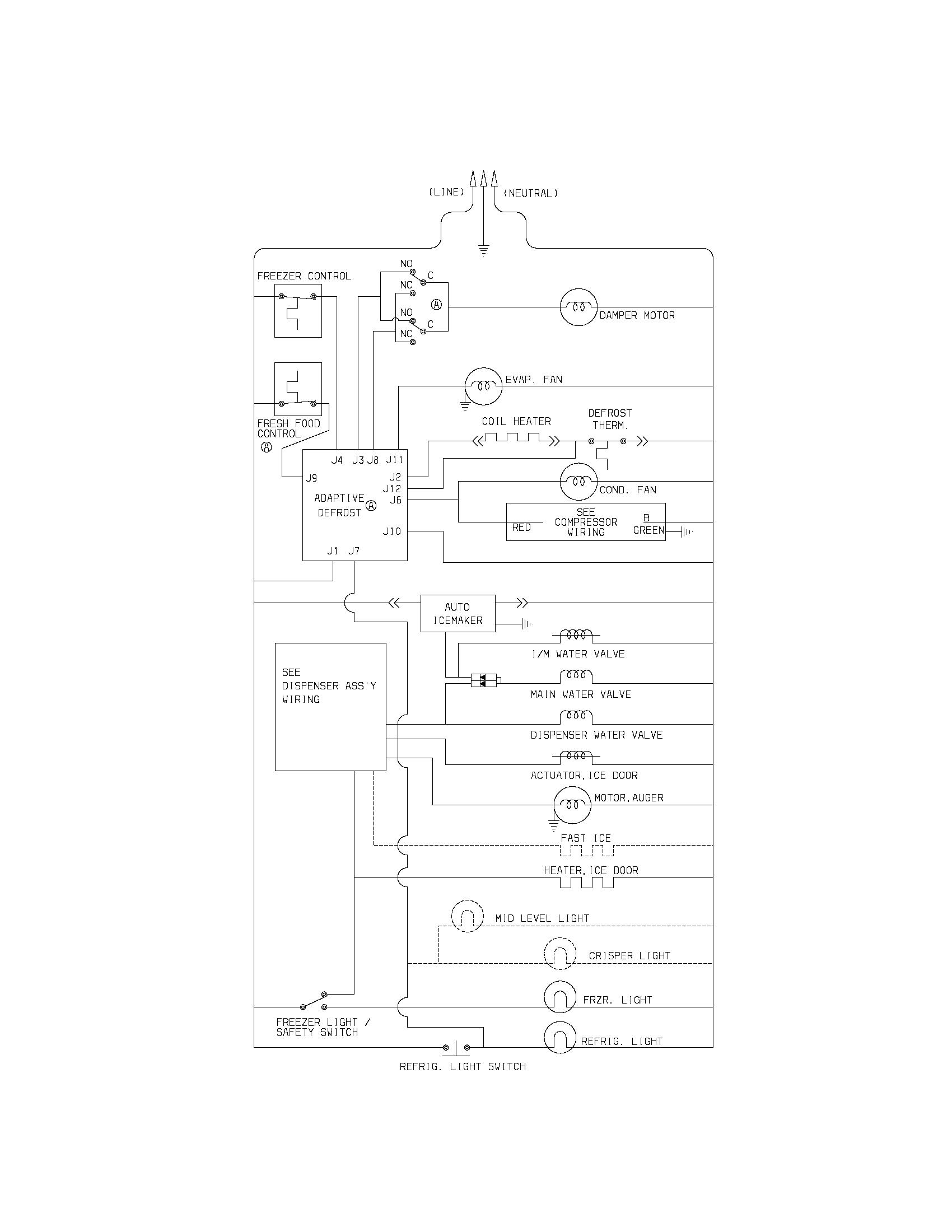 westinghouse electric motor wiring diagram tao atv refrigerator library