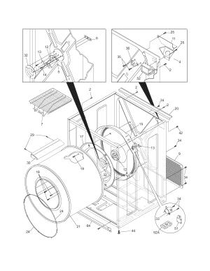 FRIGIDAIRE DRYER Parts | Model leq6000es2 | Sears PartsDirect