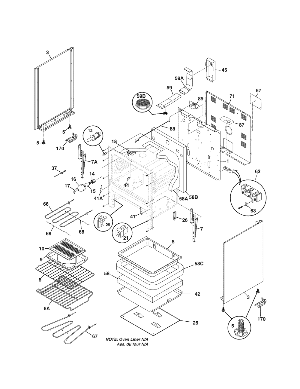 medium resolution of kenmore electric oven wiring diagram