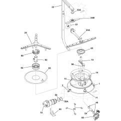 Frigidaire Gallery Dishwasher Parts Diagram 2002 Chevy Suburban Radio Wiring Model Pld2855rfc1 Genuine