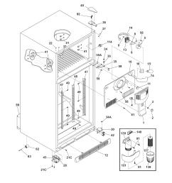 frigidaire refrigerator water line diagram [ 1700 x 2200 Pixel ]