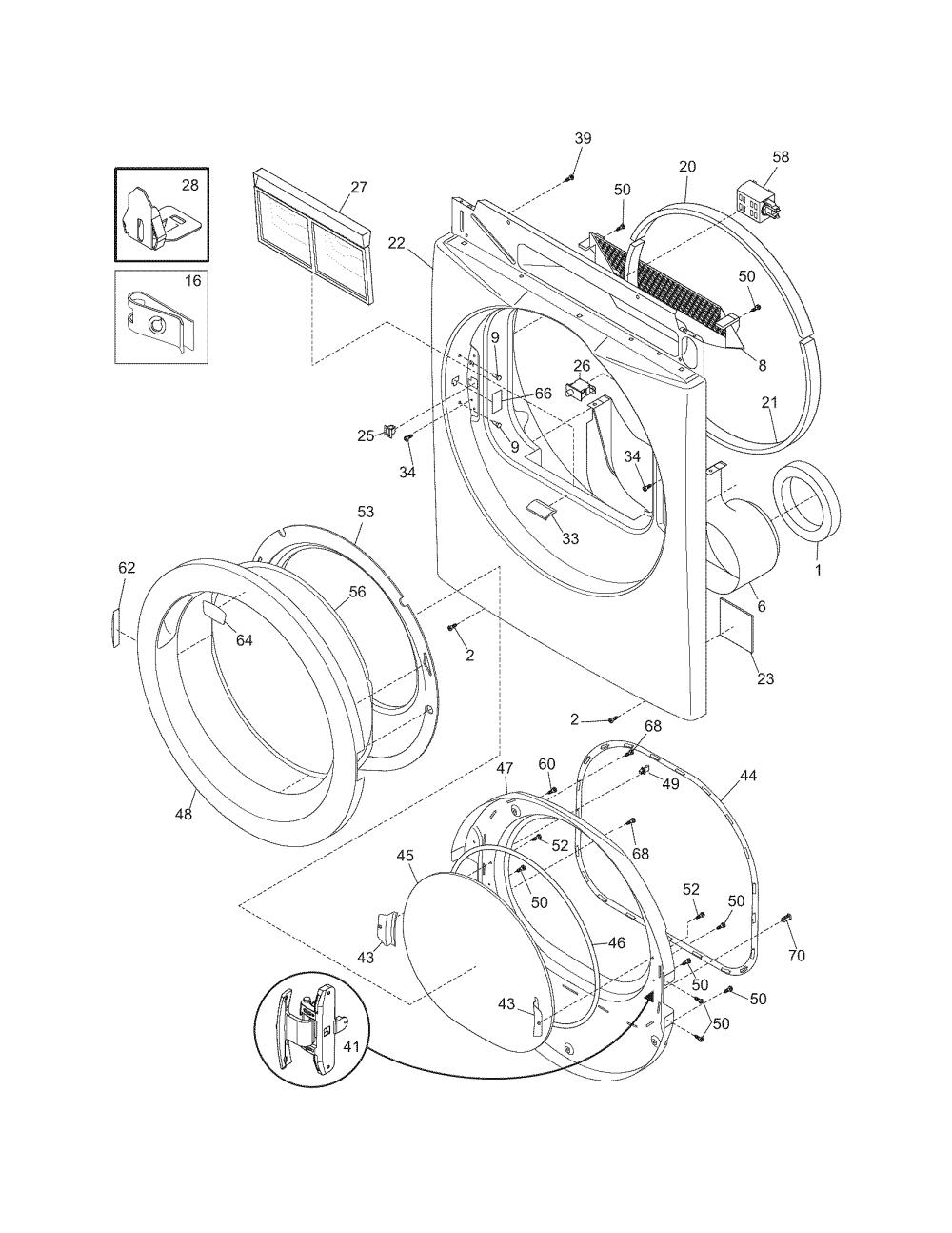 medium resolution of frigidaire gleq2152eso dryer wiring diagram wire management wiring diagram for frigidaire dryer