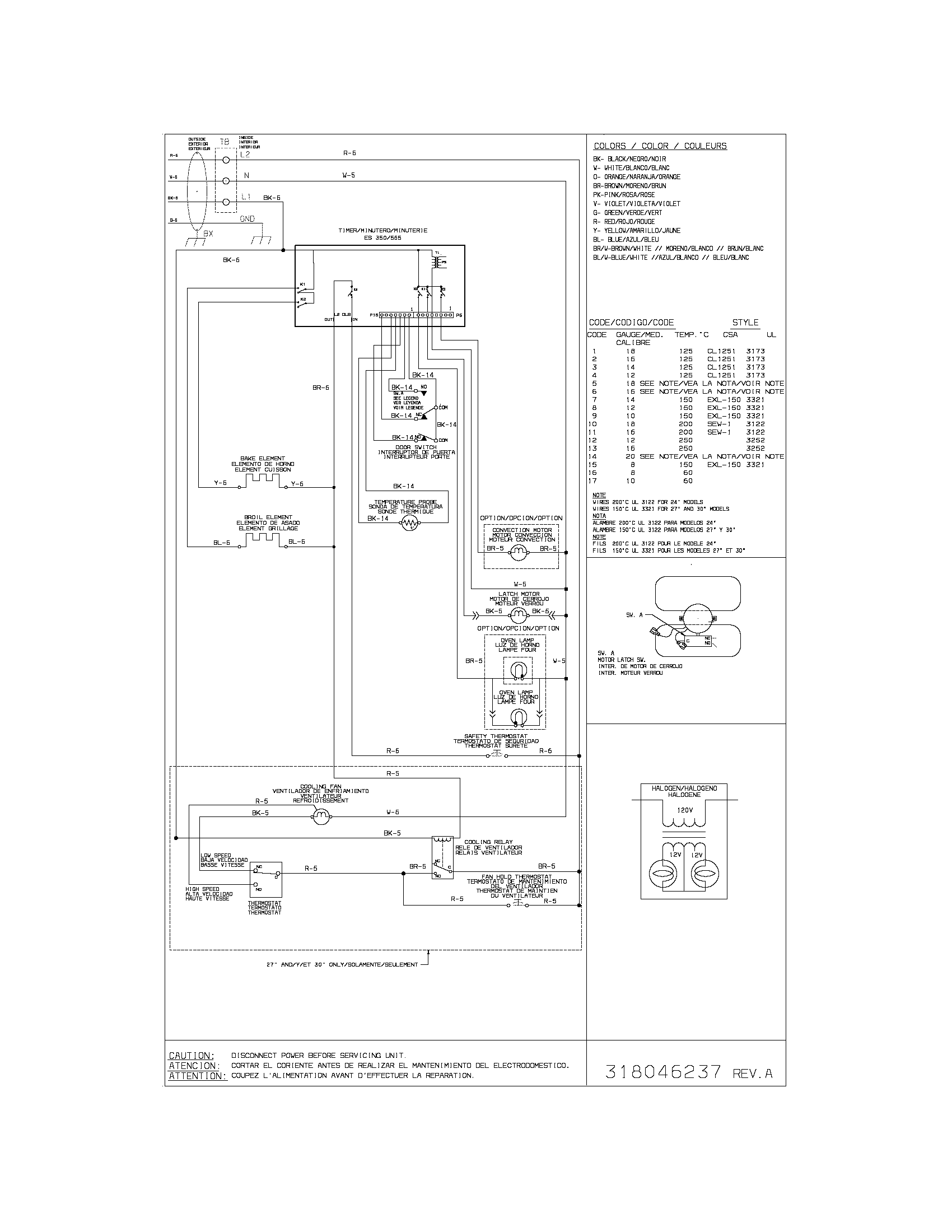 hight resolution of kenmore electric oven wiring diagram parts