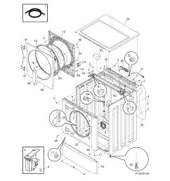 frigidaire affinity washer parts diagram schematics wiring diagrams u2022 frigidaire refrigerator parts diagram frigidaire washer [ 1700 x 2200 Pixel ]