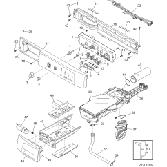 Frigidaire Front Load Washer Parts Diagram Freightliner M2 Wiring Schematics Model Ftfb4000gs1 Sears