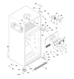kenmore model 2536419240h top mount refrigerator genuine parts kenmore freezer model 253 wiring diagram get free image about wiring [ 1700 x 2200 Pixel ]