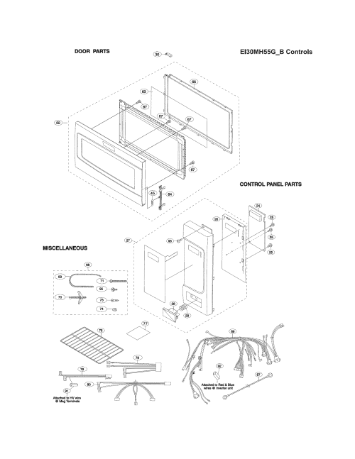 small resolution of electrolux ei30mh55gsb control panel door misc diagram